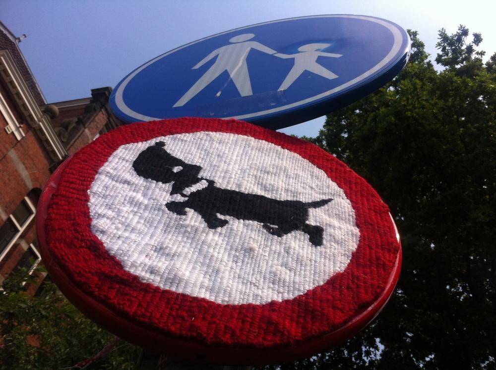 BrewerkWest verkeersbord hond