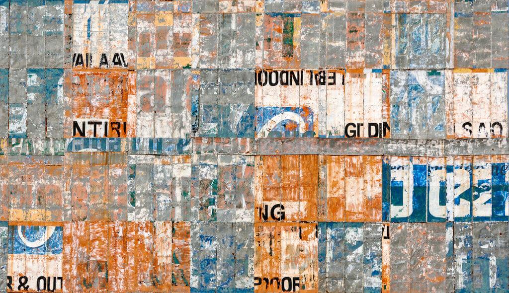 "Manish Nai, ""Digits XIII"" (Bilboard Series), 2016, Lucia pigment op Hahnemühle papier, 91,4 x 158,7 cm, ed. 3. (copyright: Manish Nai, Courtesy Galerie Karsten Greve Köln, Paris, St. Moritz)."