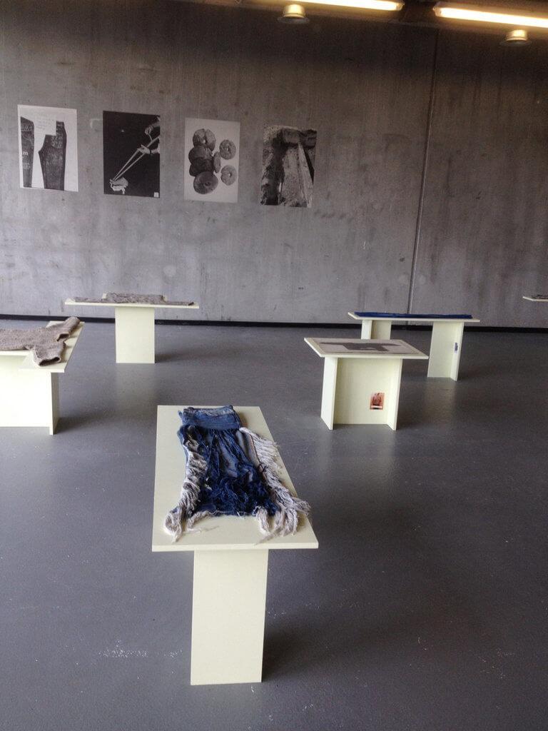 Presentatie van Rosita Kaer op de Gerrit Rietveld Academie.
