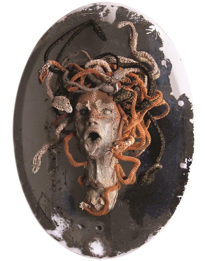 "Emmanuelle Dupont, ""Miroir Medusa""."