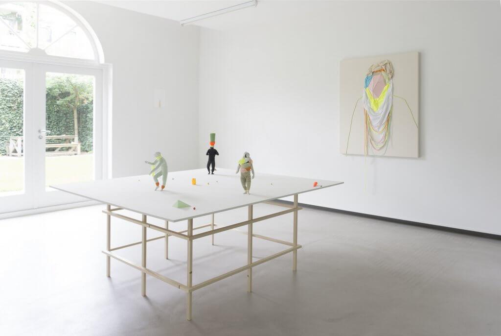 Frode Bolhuis, overzicht tentoonstelling Galerie Bart.