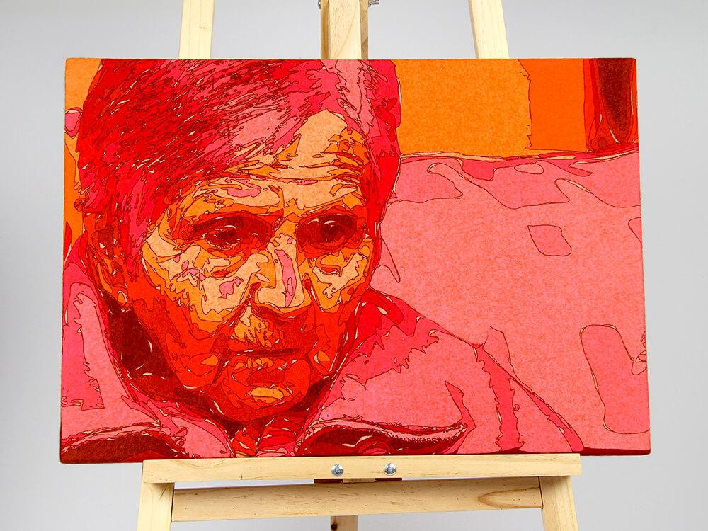 Ellen Bakker, viltportret.