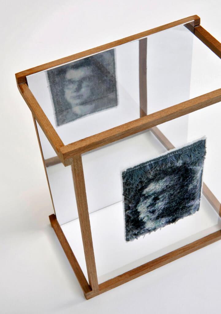 """An Packbiers, """"Spiegelbeeld"""", publiekswinnaar Textiel Plus Arts & Crafts Wedstrijd 2018"""