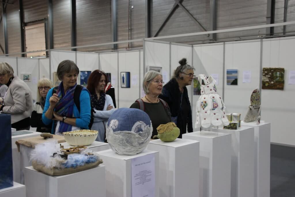 Expositie Textiel Plus Arts & Crafts Wedstrijd