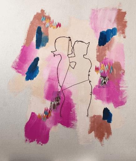 Het werk van kunstenaar Nadia Nizamudin