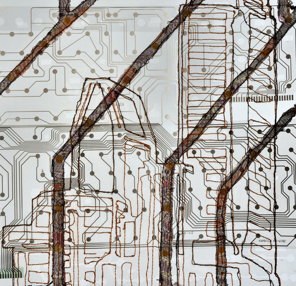 """Eszter Bornemisza, """"Connections, detail"""