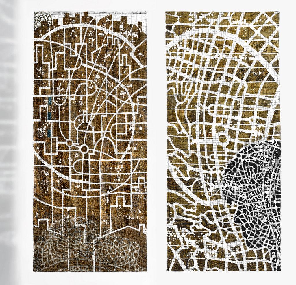 "Eszter Bornemisza, ""Inner Mapping""."