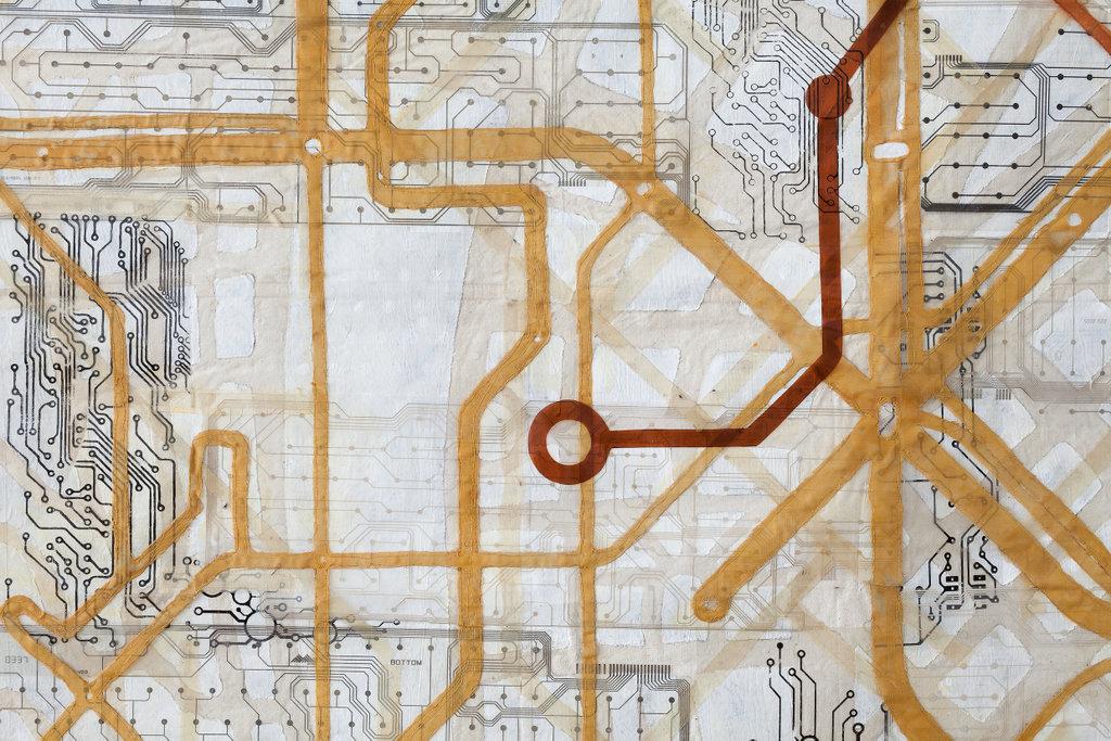 "Eszter Bornemisza, ""Urban Links"", detail."
