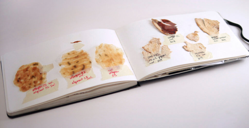 "Kristel Peters, ""Sampling Notebook""."