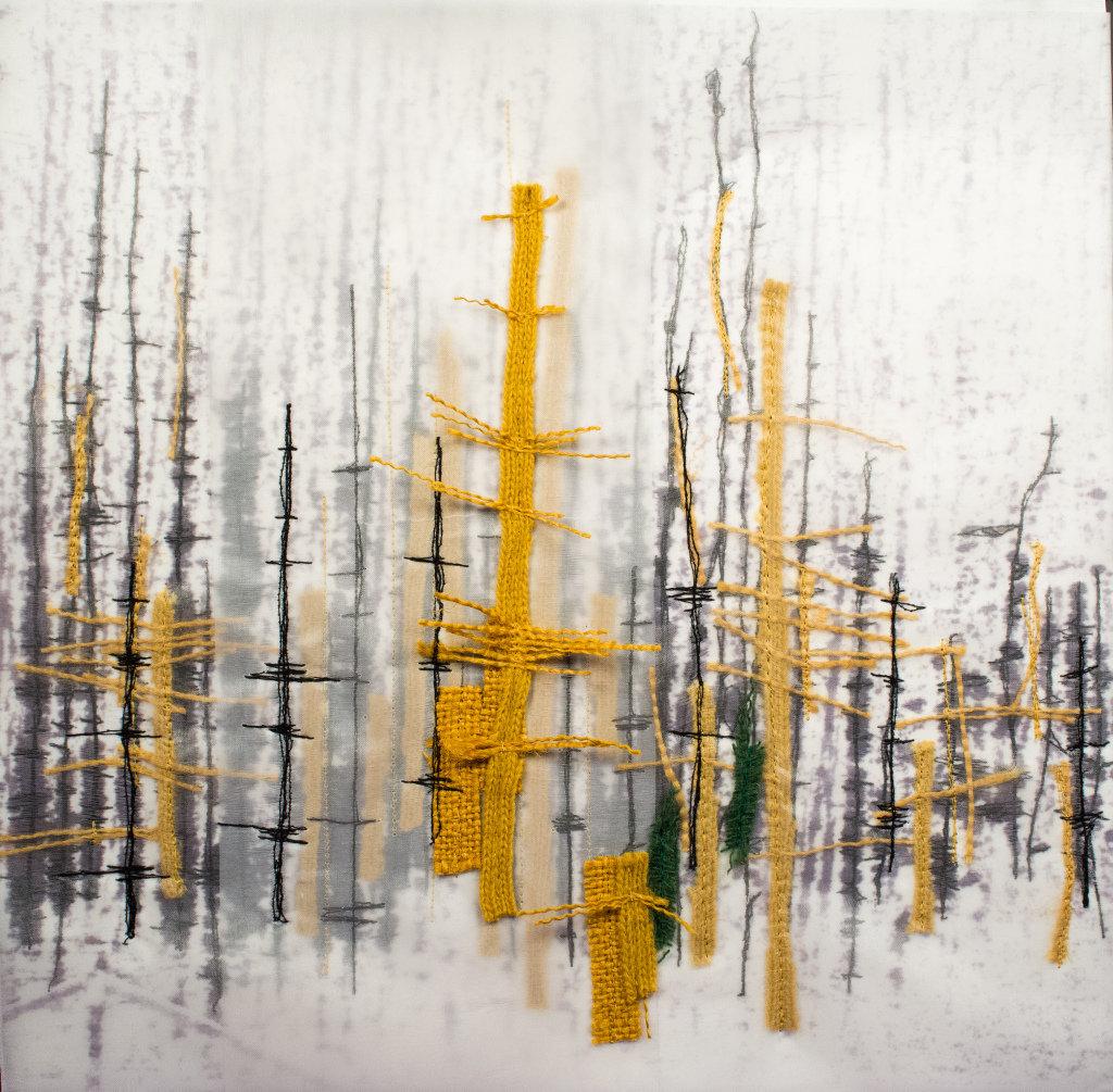 """Mónica Leitão Mota, """"Highway trees""""."""