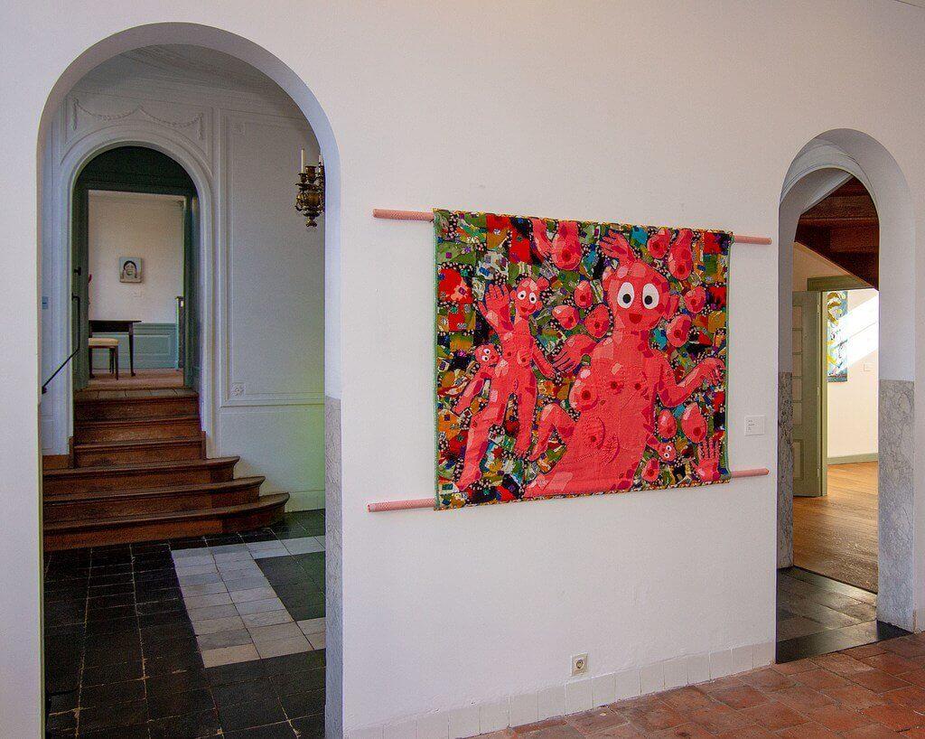 Werk van Preta Wolzak en Bas Kosters in Museum Rijswijk (foto: Wil Kouwers).