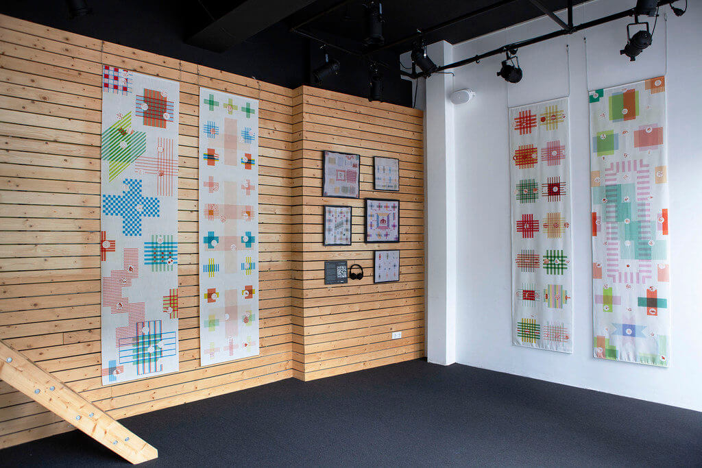 Expositie De Stoplap in New Metropolis in Amsterdam - foto Patricia Wolf