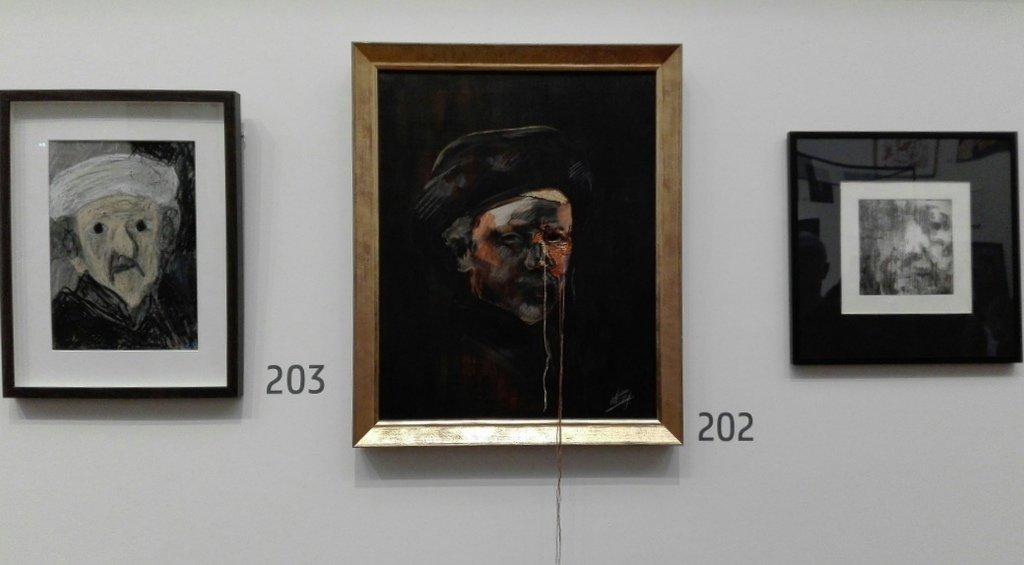 Portret Rembrandt van Melfi van den Broek (Irma Frijlink).