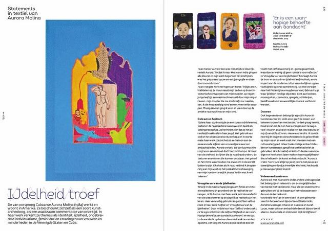 TxP 249: Statements in textiel van Aurora Molina.