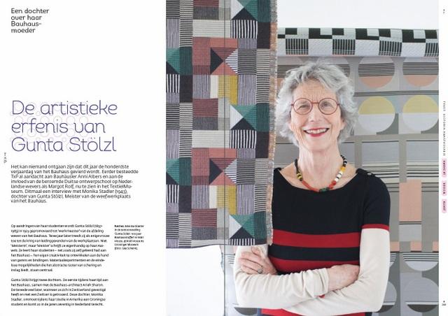 TxP 249: Monika Stadler over Bauhaus-moeder Gunta Stölzl.