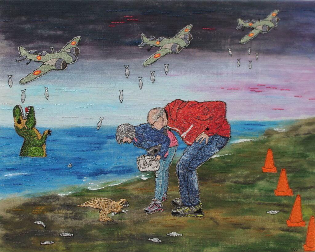 """Tineke Puyenbroek, """"Ons kleurrijk dagje uit""""."""