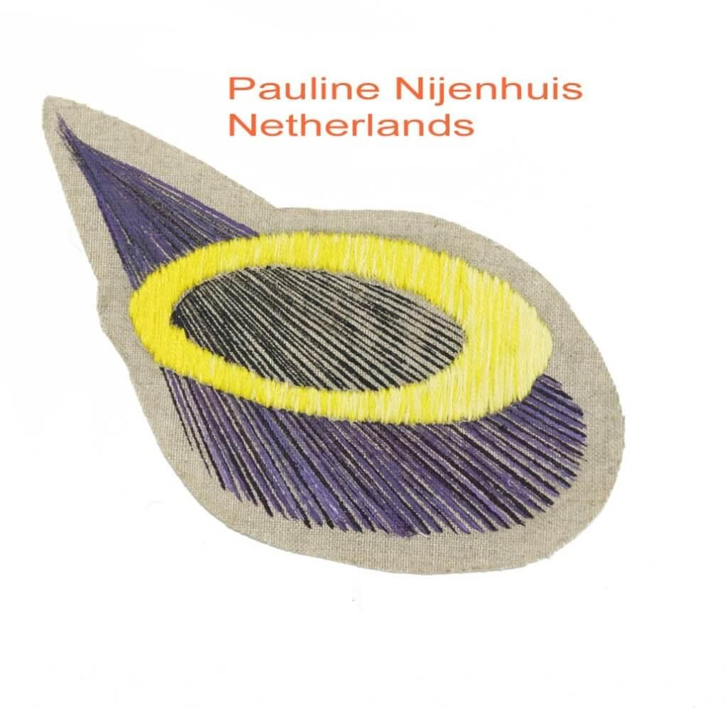 De textiele bijdrage van de Nederlandse Pauline Nijenhuis