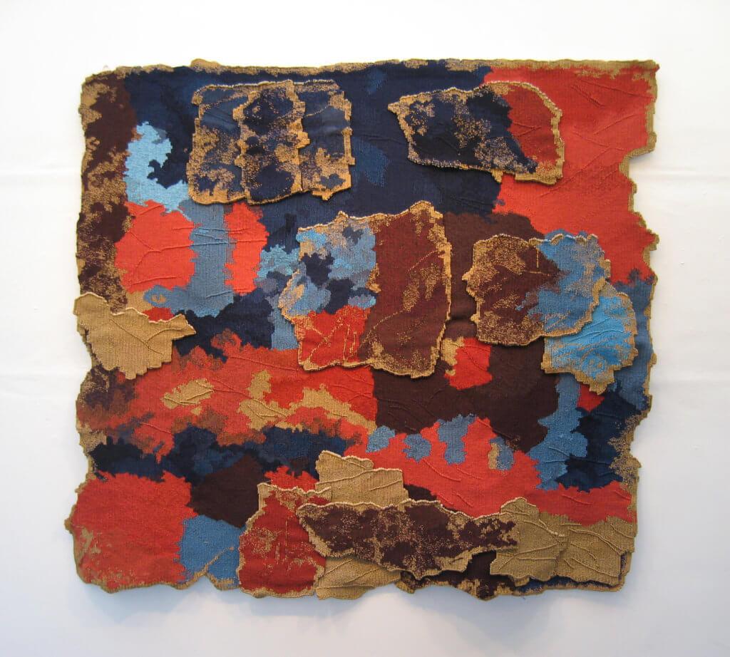 Joanne Soroka, 'Golden Section', 143 x 152 cm, gelaagd gobelinweefsel.