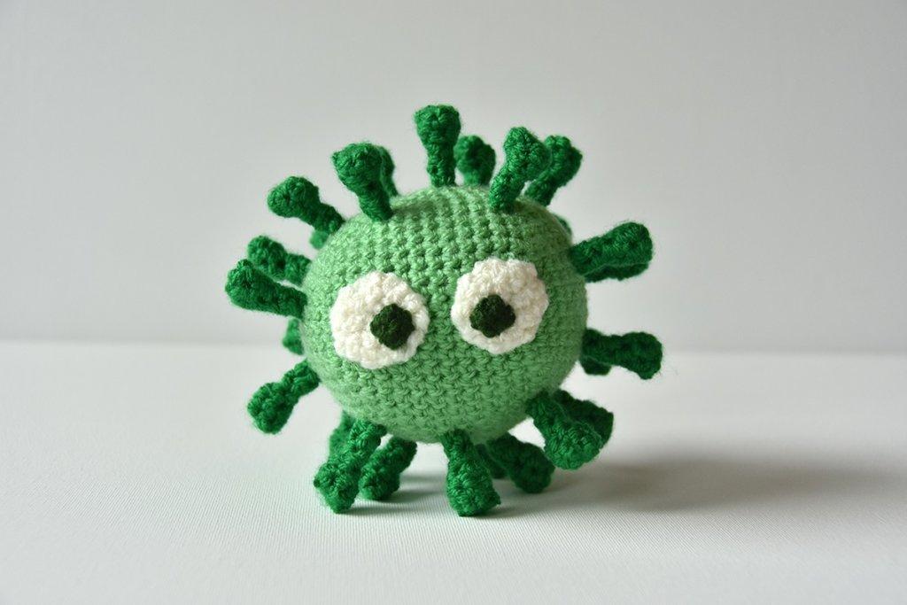 Gratis virus haakpatroon