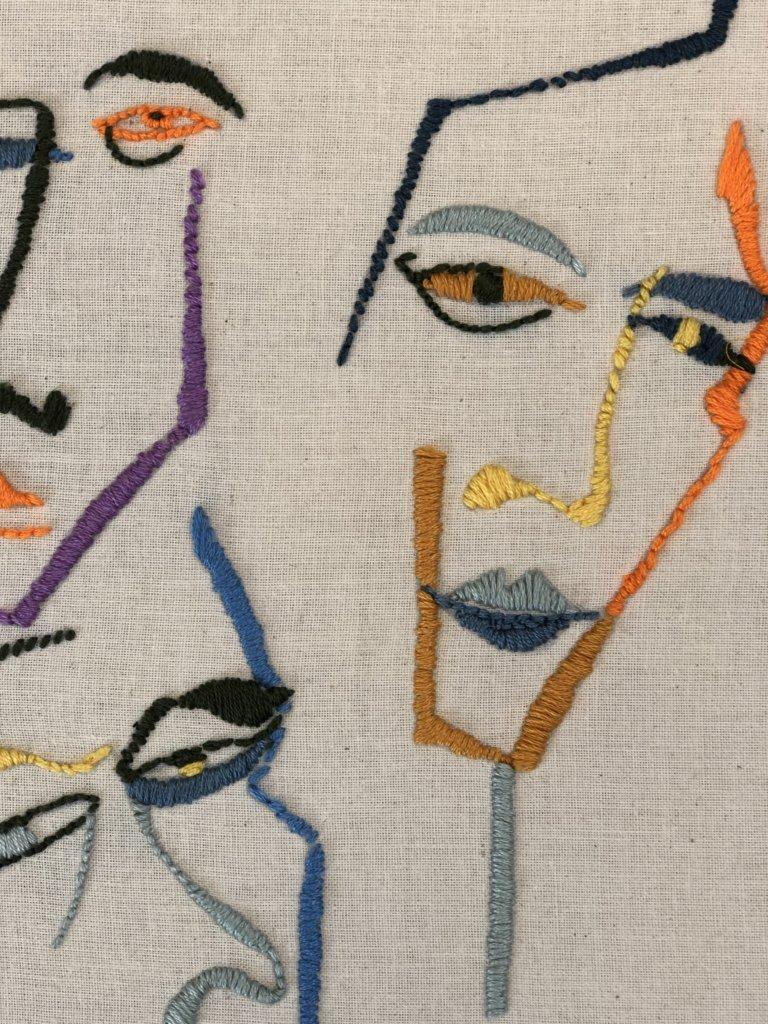 Social distancing fabric