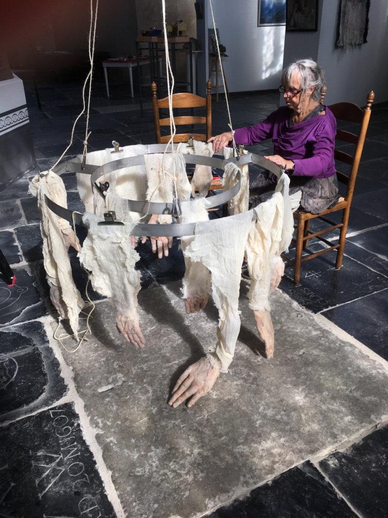 Expositie Mieke Werners in de Grote Kerk Monnickendam (2018).