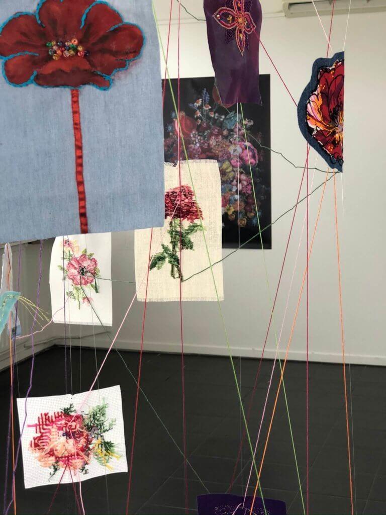 Kunstwerk Love Blooms (detail)