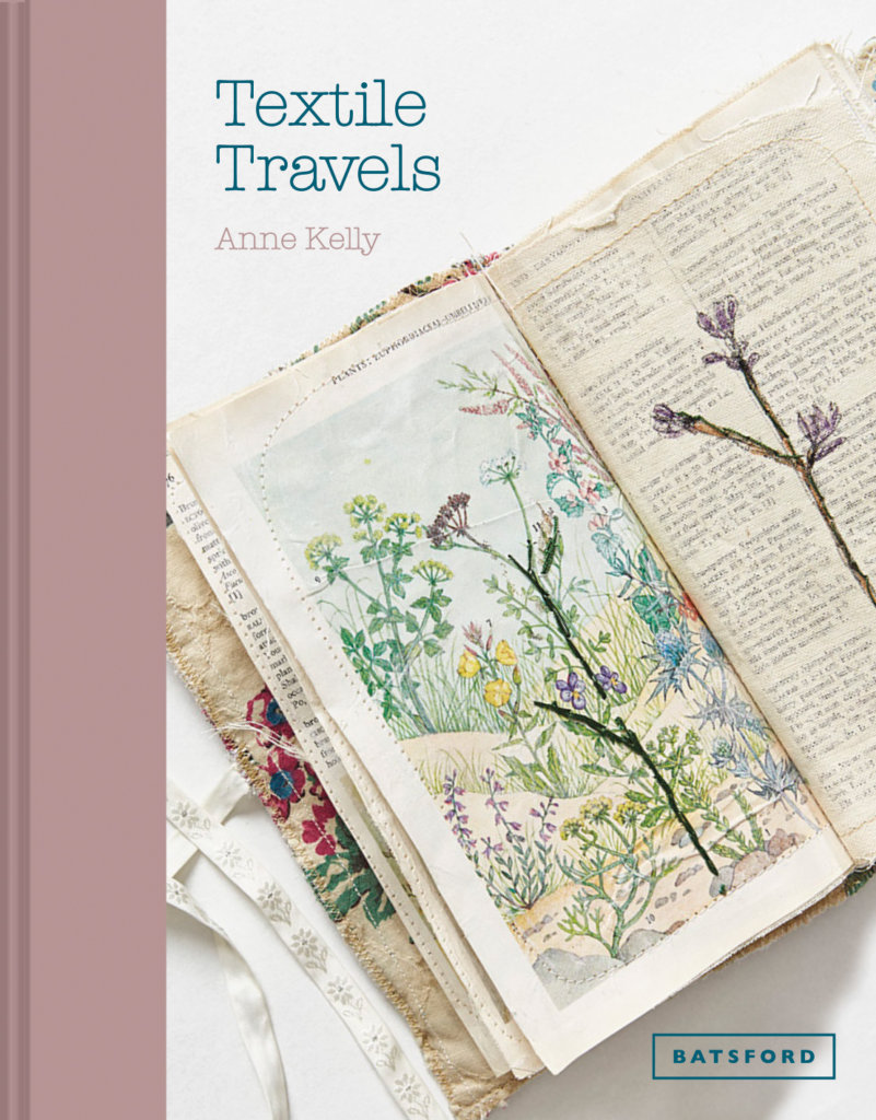 Cover of Anne Kelly's book 'Textile Traveller'.