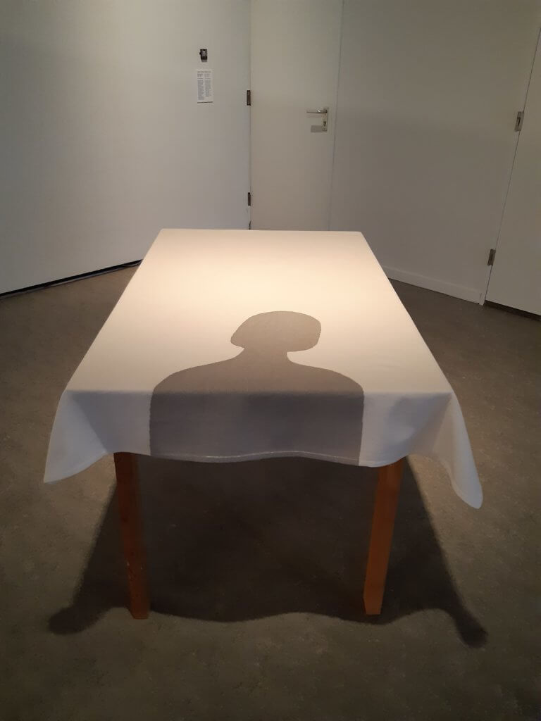"""Anna Verwey-Verschuure, """"Mijn plaats aan tafel 1"""", 1972-73."""