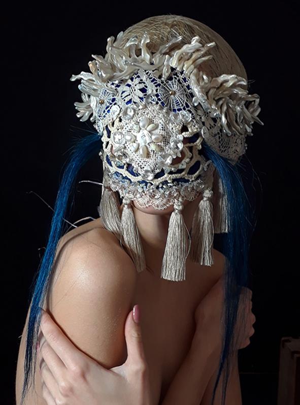 Muriel Nisse, masker.