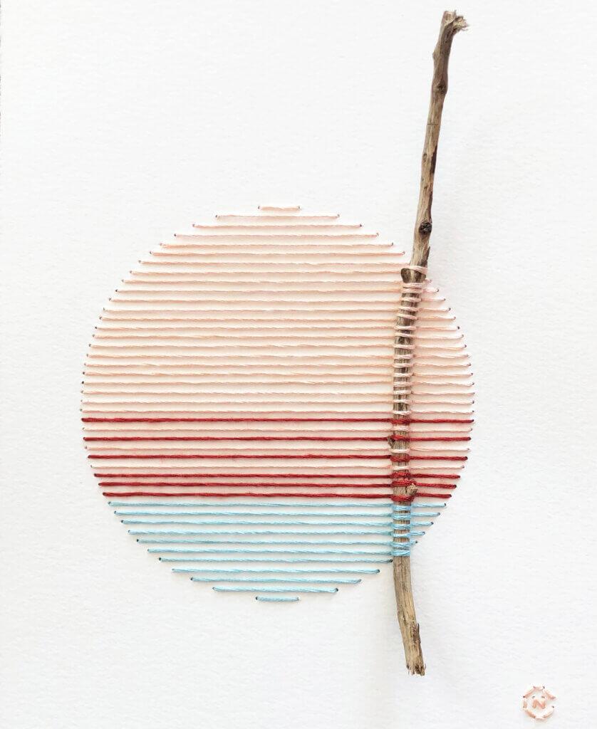 Natalie Ciccoricco, werk uit de serie 'Nesting'.