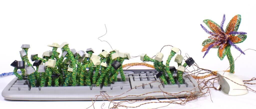 "Twyla Exner, ""Invasion Keyboard""."