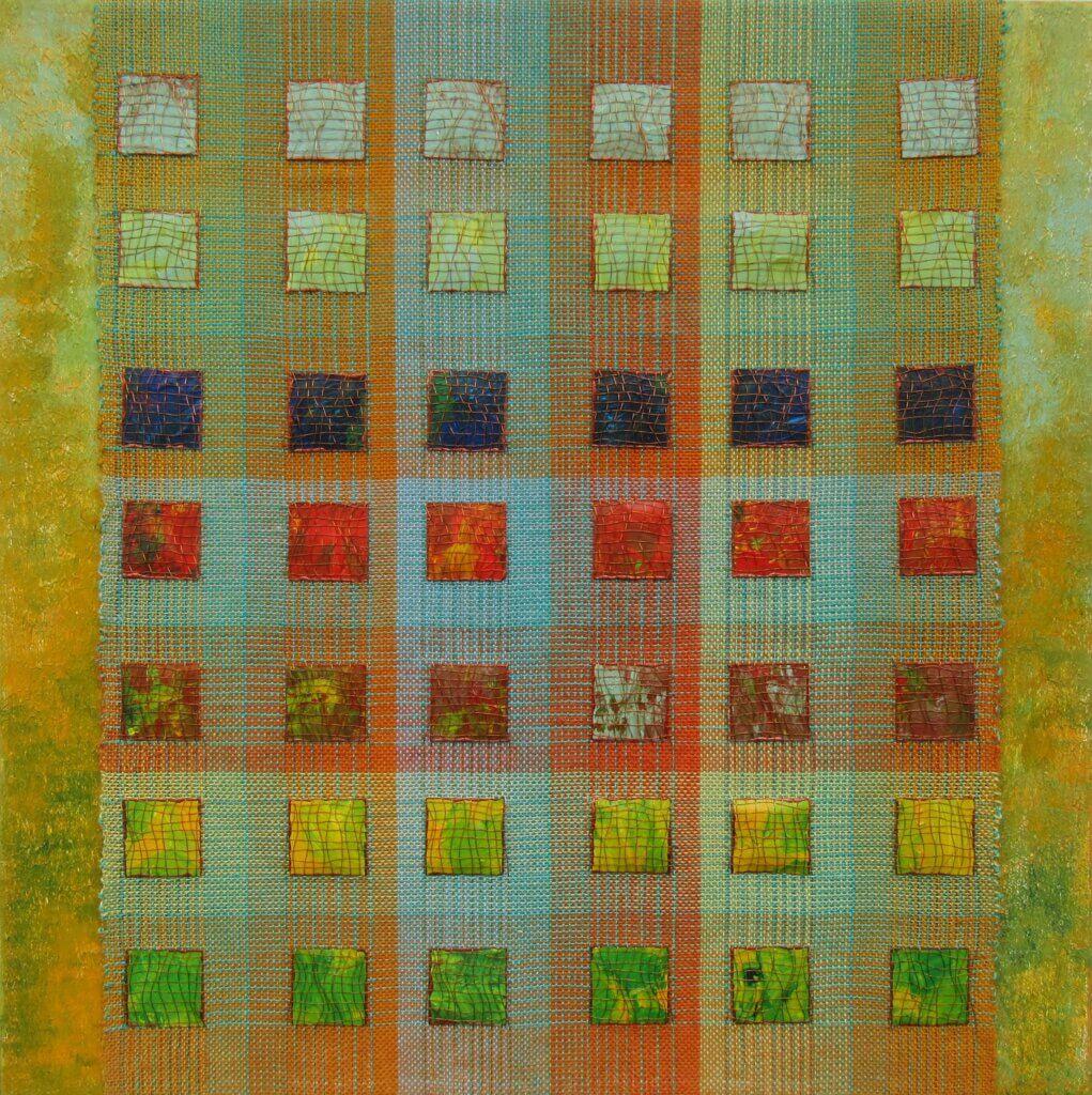 Anneke Kersten, 'Color gradients', 2021, 50 x 50 cm.
