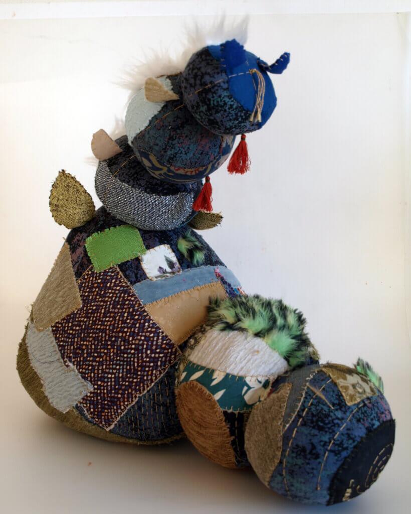 Grigoria Vryttia, 'Een rups en een babymot', (2020).