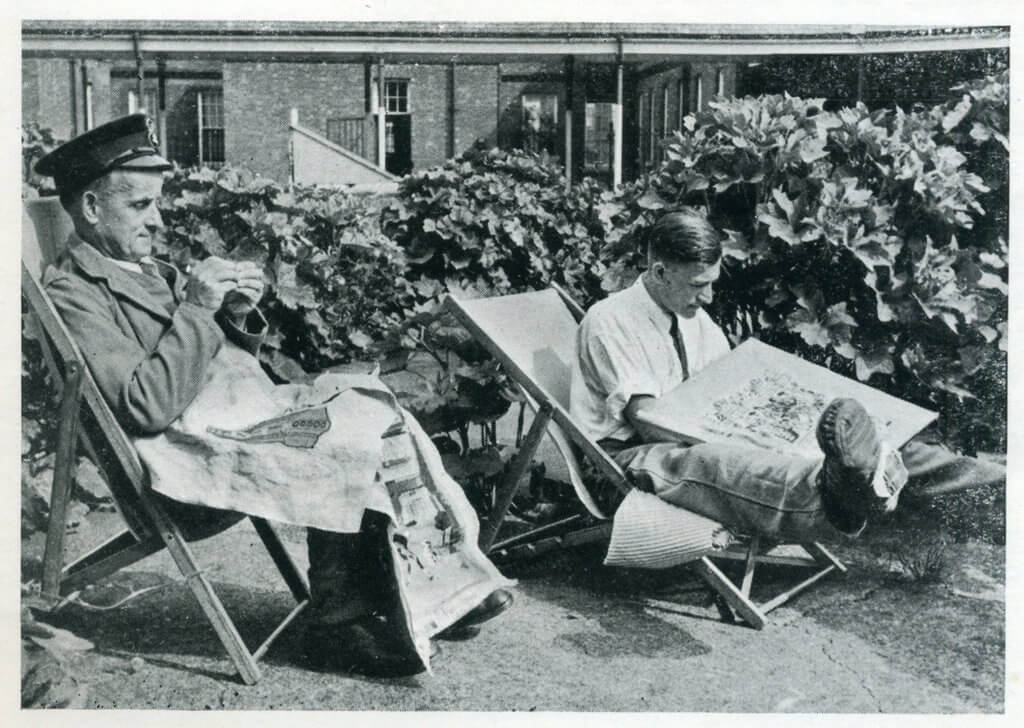 Convalescing Soldiers 1940